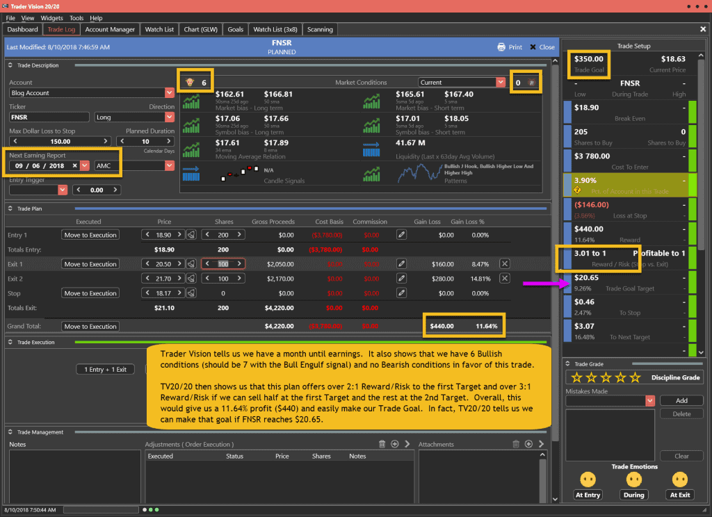 FNSR Trade for Plan 8-10-18