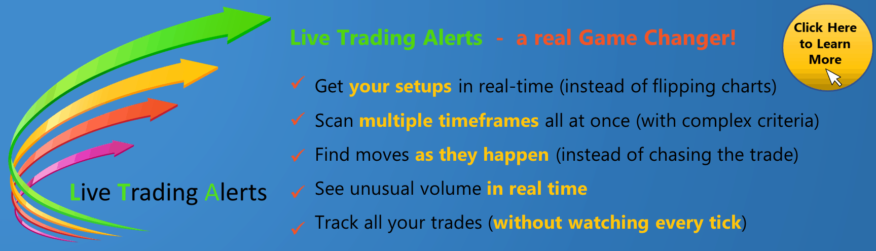Live Trading Alerts